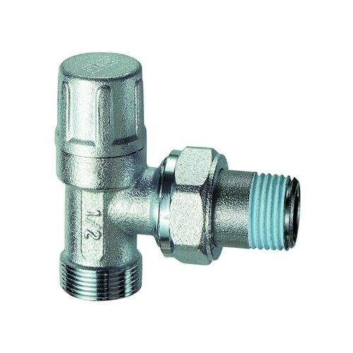 Фото - Запорный клапан FAR FV 1100 муфтовый (НР/НР), латунь, для радиаторов Ду 15 (1/2) запорный клапан far ft 1616 муфтовый нр нр латунь для радиаторов ду 15 1 2