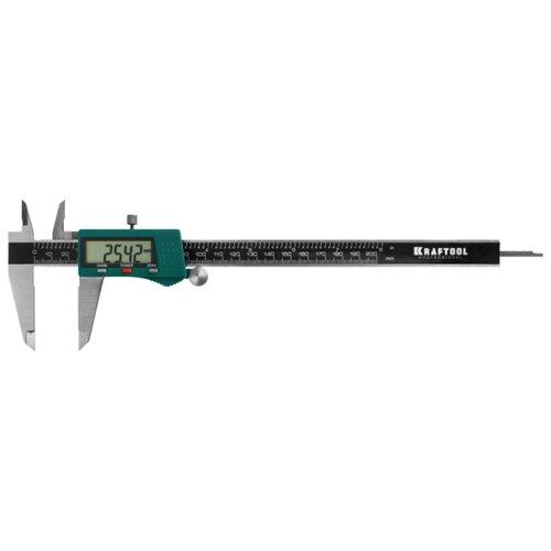 Цифровой штангенциркуль Kraftool 34460-200 200 мм, 0.01 мм цифровой штангенциркуль norgau ip67 200мм 0 01мм 040051020