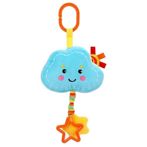 Купить Подвесная игрушка Жирафики Облачко (939725) голубой/красный, Подвески