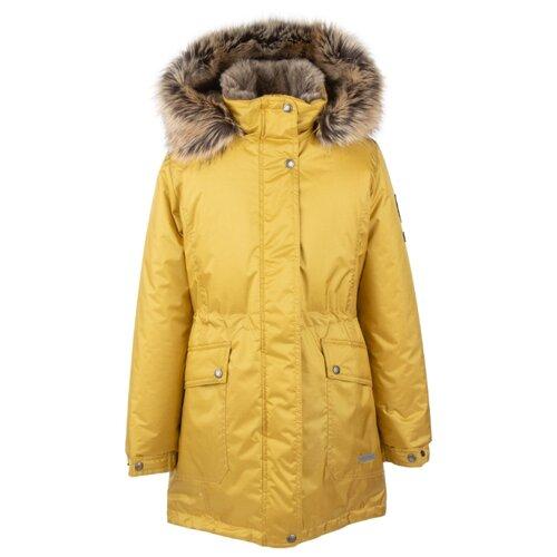 Купить Парка KERRY Elly K20671 A размер 152, 00112 желтый, Куртки и пуховики