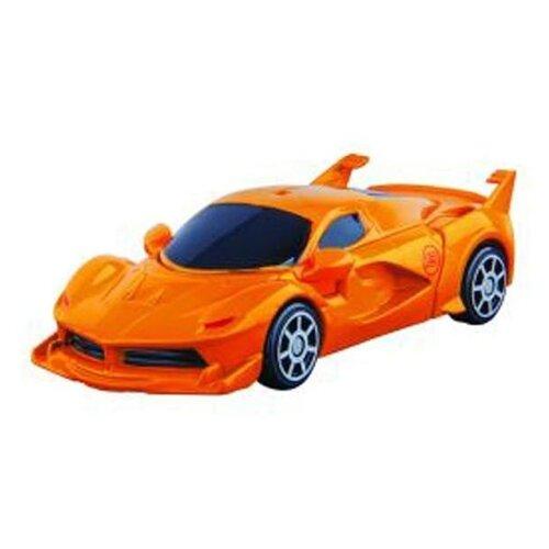 Купить Трансформер Пламенный мотор Суперкар 870416 оранжевый/серый, Роботы и трансформеры