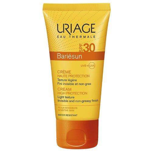 Uriage крем Bariesun для чувствительной кожи лица и тела, SPF 30, 50 мл, 1 шт урьяж мицеллярная вода очищающая для кожи склонной к покраснению 250 мл uriage гигиена uriage