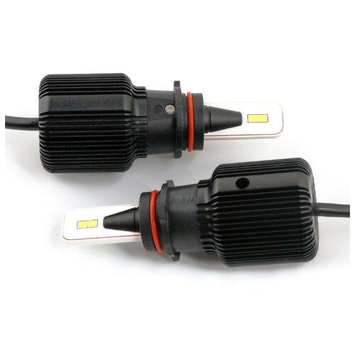 Лампа автомобильная светодиодная Vizant J1 цоколь H3 Seoul-csp 4500lm 5000k 2 шт. kygo seoul