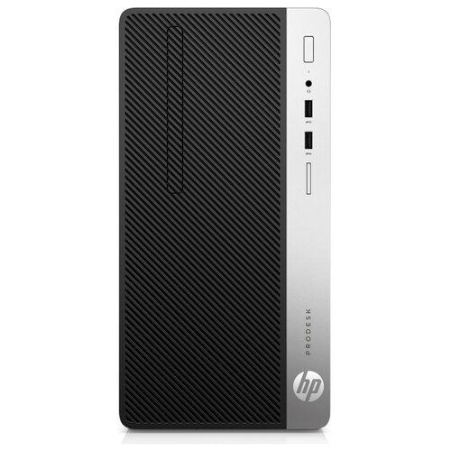 Настольный компьютер HP ProDesk 400 G6 MT (7PG44EA) Micro-Tower/Intel Core i7-9700/8 ГБ/256 ГБ SSD/Intel UHD Graphics 630/Windows 10 Pro черный/серебристый моноблок hp eliteone 800 g5 intel core i7 9700 3000 mhz 23 8 1920x1080 8gb 512gb ssd dvd rw intel uhd graphics 630 wi fi bluetooth windows 10 pro