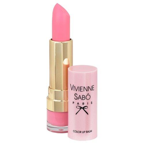 Vivienne Sabo помада-бальзам для губ Baume a levres Color lip balm, оттенок 03 розовый