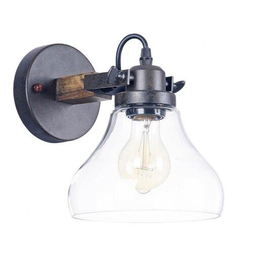 Настенный светильник FREYA Lorenza FR4171-WL-01-B, 60 Вт люстра на штанге lorenza fr4171 pl 03 b