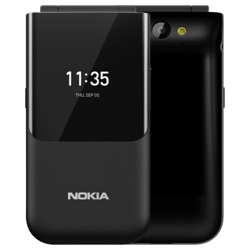 Смартфон Nokia 2720 Flip Dual sim черный