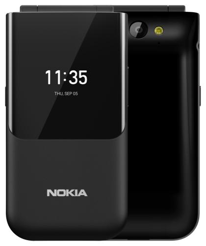 Телефон Nokia 2720 Flip Dual Sim Black