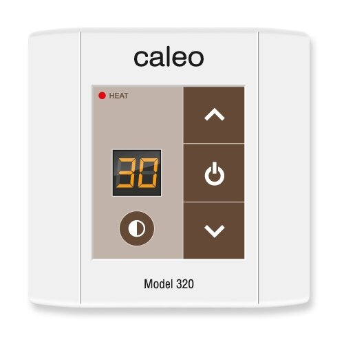 Фото - Терморегулятор Caleo 320 белый терморегулятор caleo 620 белый