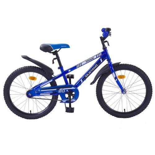 Подростковый горный (MTB) велосипед MUSTANG Prime ST20012-V синий/черный (требует финальной сборки) mustang 310
