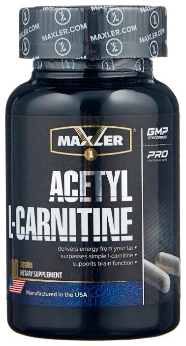 Maxler Acetyl L-Carnitine (100 шт.) — купить по выгодной цене на Яндекс.Маркете