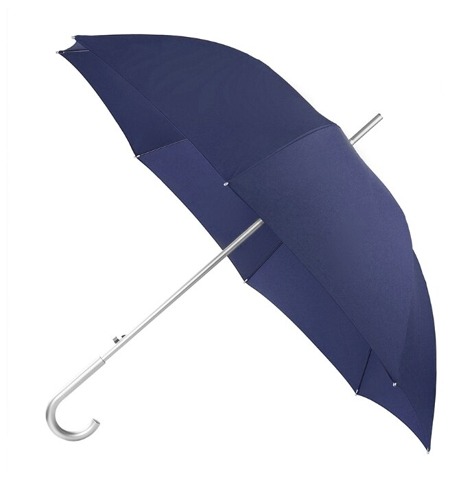Зонт-трость автомат Samsonite Alu Drop S (8 спиц, ручка-крюк)