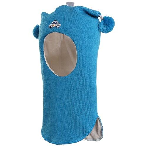 Шапка-шлем Kivat размер 1, 64 синий kivat шлем синий в полоску