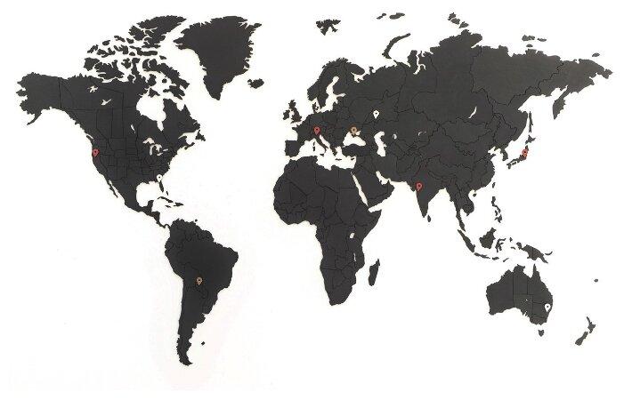 Пазл Mi-Mi-Mi Design World map true puzzle small, 275 дет.
