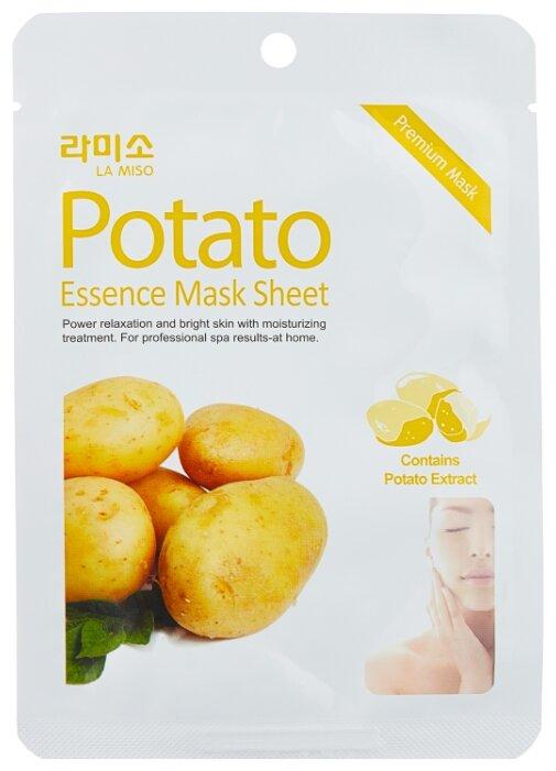 La Miso тканевая маска Premium Essence Mask с экстрактом картофеля