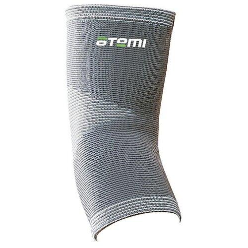 Защита локтя ATEMI ANS-004, р. S, серый защита колена atemi ans 003 р xl серый
