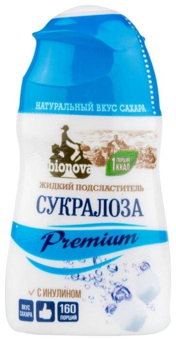 BIONOVA Подсластитель Сукралоза Premium с инулином жидкость
