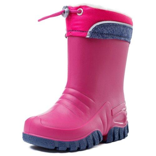 Резиновые сапоги playToday Light magic 382215 размер 33, розовый/темно-серый резиновые сапоги playtoday light magic 382215 размер 33 розовый темно серый
