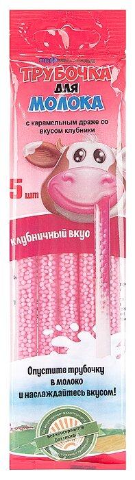 Соломинка для молока Proпитание с карамельным драже со вкусом клубники (с 3-х лет) 30 г