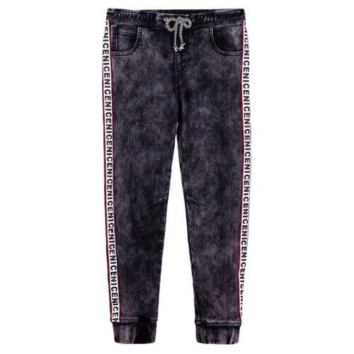 Джинсы playToday размер 128, темно-серый джинсы rica lewis ц серый р 30