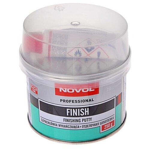 Комплект (шпатлевка, отвердитель) NOVOL FINISH 0.25 кг