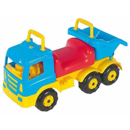 Купить Каталка-толокар Полесье Премиум-2 (6614) голубой/желтый, Каталки и качалки