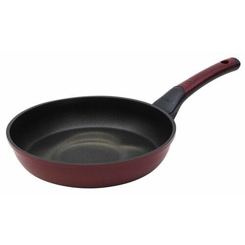 Сковорода Oursson Palette PF2622P, 26 см, темная вишня сковорода oursson palette pf2422p 24 см темная вишня