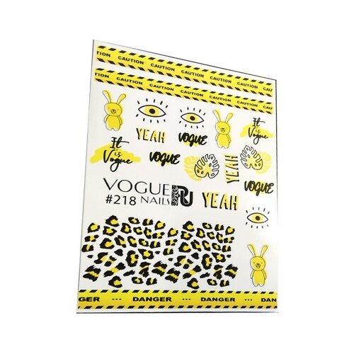 цена на Слайдер дизайн Vogue Nails 218 №218