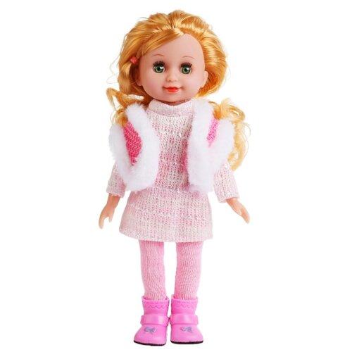 Купить Интерактивная кукла Карапуз Алина, 24 см, S922-KN-RU-20 (72), Куклы и пупсы