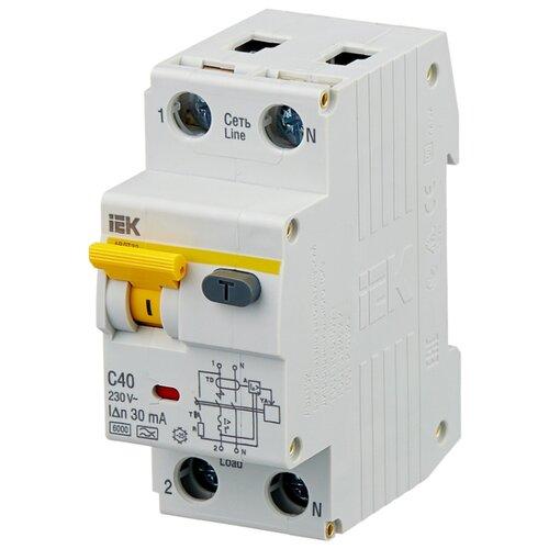 цена на Дифференциальный автомат IEK АВДТ 32 2П 30 мА C 40 А