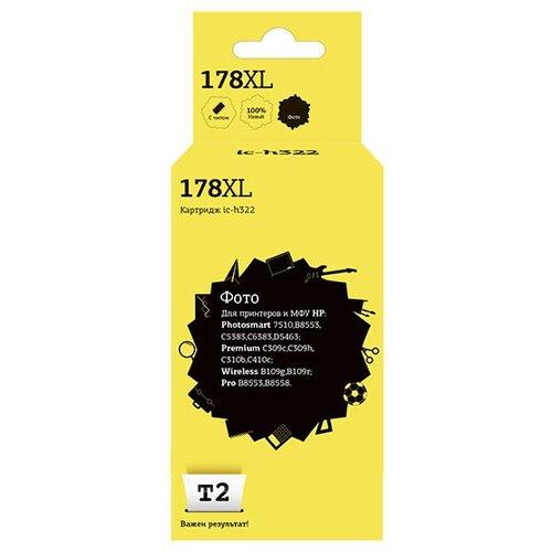 Фото - Картридж T2 IC-H322, совместимый картридж t2 ic cpgi 520bk совместимый