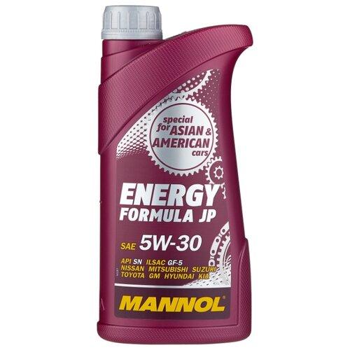 Моторное масло Mannol Energy Formula JP 5W-30 1 л моторное масло mannol energy formula pd 5w 40 1 л