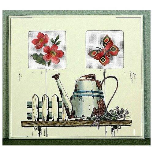 Schaefer Набор для вышивания Садовая лейка 21 x 23 см (450/1) schaefer набор для вышивания 9 x 12 см 460 12