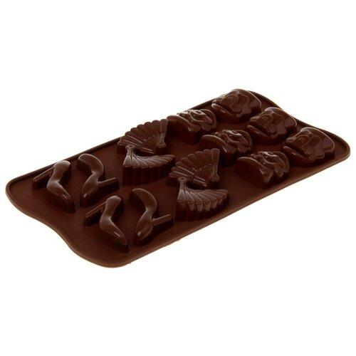 Форма для шоколада Доляна Дамский набор шоколадный
