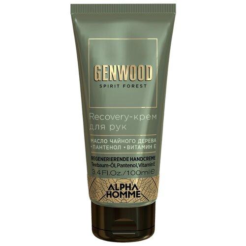 Крем для рук Alpha Homme Genwood Recovery 100 мл дезодорант антиперспирант alpha homme genwood fit 50мл