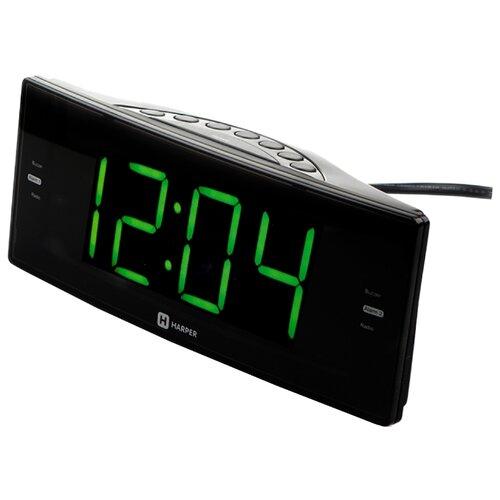 Радиобудильник HARPER HCLK-2044 черный