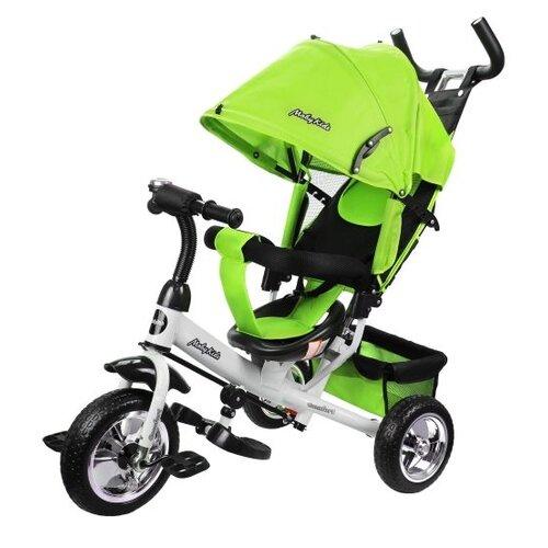 Купить Трехколесный велосипед Moby Kids Comfort 10x8 EVA зеленый, Трехколесные велосипеды