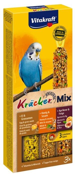 Лакомство для птиц Vitakraft Крекеры Мед, яйцо, фрукты (21231)