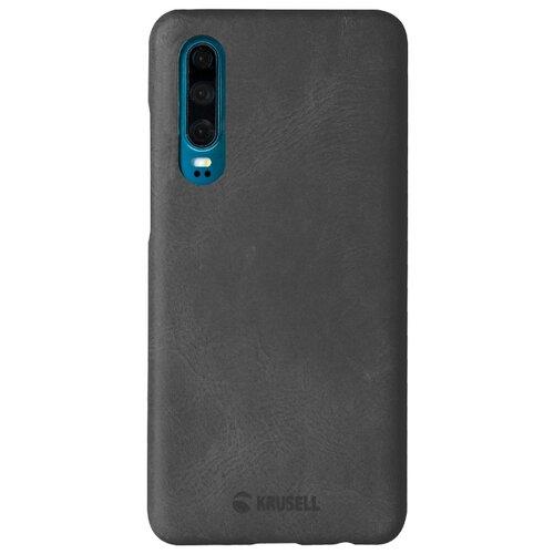 Чехол Krusell Sunne Cover для Huawei P30, кожаный черный