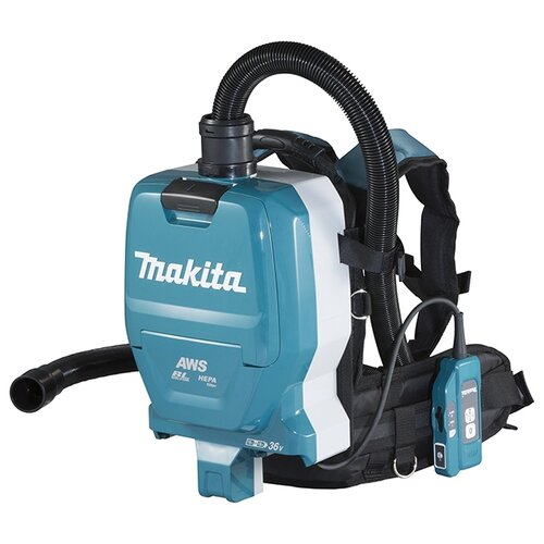 Профессиональный пылесос Makita DVC265ZXU синий/черный