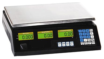 Весы торговые Romitech NECS-30-1