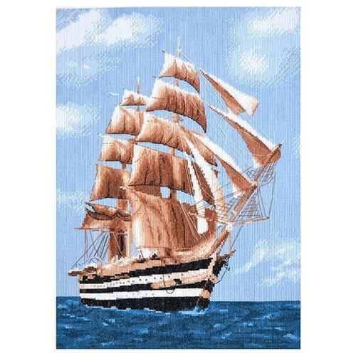 Купить Hobby & Pro Набор для вышивания Морское путешествие 28 х 39 см (965), Наборы для вышивания