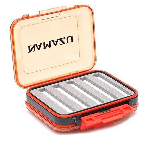 Коробка для приманок для рыбалки Namazu N-BOX27 125х100х42 см оранжевый/серый