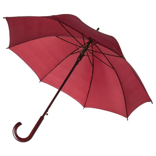Фото - Зонт-трость полуавтомат Unit Standard (393) бордовый зонт трость полуавтомат три слона 1100 бордовый