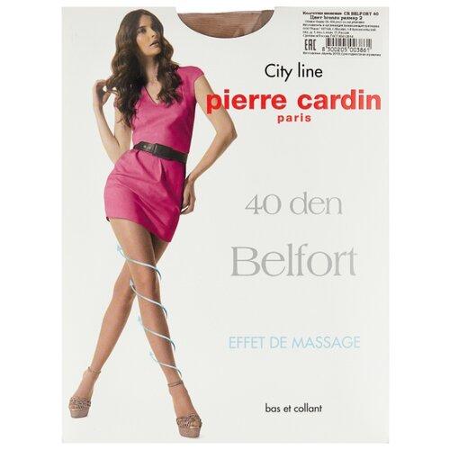 Колготки Pierre Cardin Belfort, City Line 40 den, размер II-S, bronzo (коричневый)