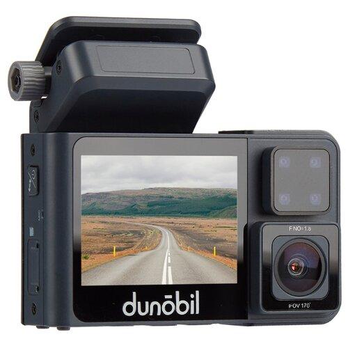 Купить Видеорегистратор Dunobil Vis Duo, 2 камеры черный