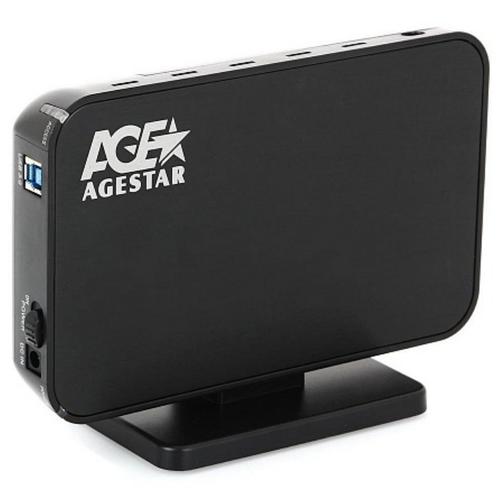 Корпус для HDD AGESTAR 3UB3A8-6G черный