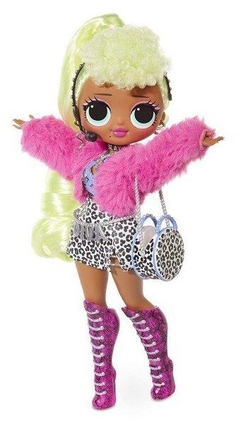 MGA Entertainment Большая Кукла ЛОЛ сюрприз 28см LOL Surprise! 560562 OMG Lady Diva Fashion Doll с 20 сюрпризами