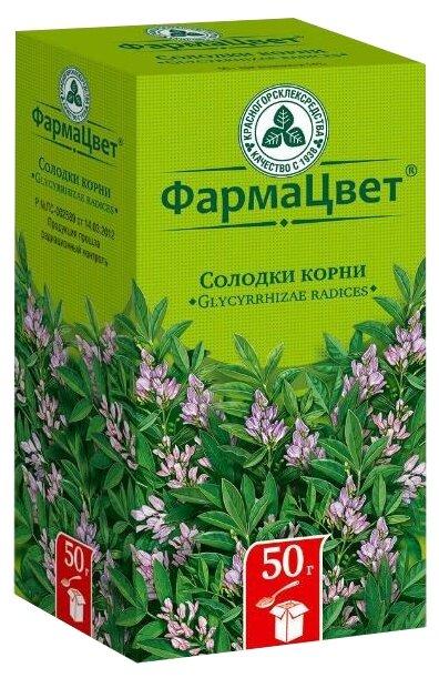 Красногорсклексредства корень ФармаЦвет Солодки 50 г — купить по выгодной цене на Яндекс.Маркете