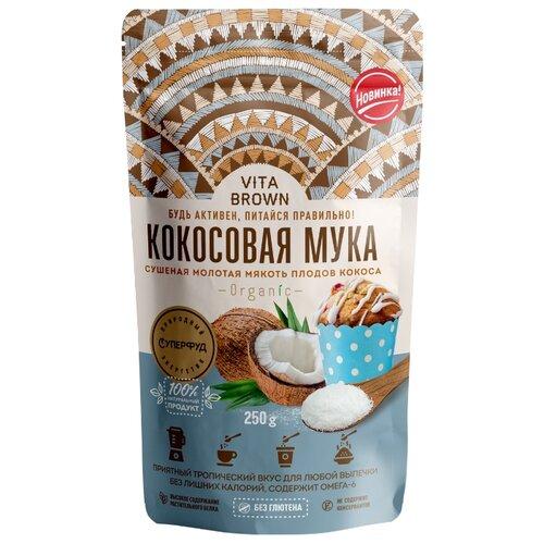 Мука VITA BROWN Кокосовая, 0.25 кг